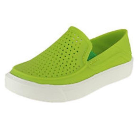 ca5d5068c3710 NEW Kids Crocs Citilane Roka Slip On Shoes